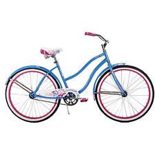 """26"""" Huffy Women's Cranbrook BEACH Cruiser Bike, Ocean Blue COMFORT CITY COMMUTER"""