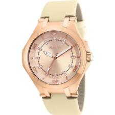 Invicta Wildflower 21761 Women's Round Rose Gold Tone Analog Shantung Watch