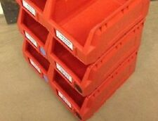WAR507 8 x USED PLASTIC BOXES H:125 x W:140 x D:235mm £10.00 + VAT