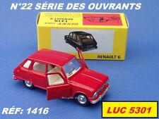 Dinky Toys Renault 6 Meccano Tri-ang Made in France