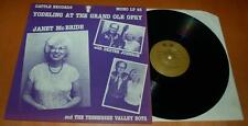 Janet McBride With Dexter Johnson - Yodeling At The Grand Ole Opry - 1986 LP