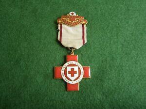 WW1 BRITISH RED CROSS MEDAL - ANNIE JOHNSTONE.