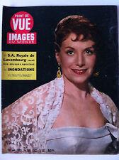 POINT DE VUE du 27/01/1955; S.A Royale de Luxembourg/ Inondations/ Suzy Carrier