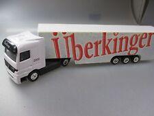 """Mercedes Benz Actros LKW """"Überkinger"""" Spur H0, 1:87 (GK108)"""