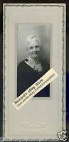 Antique Photo - Ontario, Oregon - Cute Older Lady, White Hair, Cameo Pin
