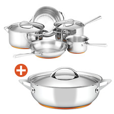 Essteele Per Vita 5 Piece Cookware Set Covered Saute Pan Induction Stainless S