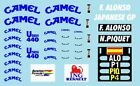 F1 DECALS MUSEUM COLLECTION D488 1/43 FOR BENETTON B191B RENAULT R28 JAPAN GP