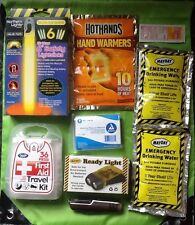 3 DAY SURVIVAL DISASTER KIT EMERGENCY PREPAREDNESS Hurricane Earthquake Blackout
