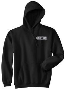 Stuntman hoodie, REFLECTIVE LOGO, Stunt performer, daredevil