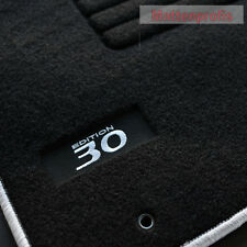 Velours Fußmatten Autoteppiche Edition silber für Hyundai i30 GD ab Bj.01/2012 -