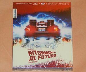 RITORNO AL FUTURO Limited Edition Numerata BLURAY+DVD+BOOKLET+MAGNETE i Numeri 1