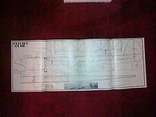 ELECTRO Cutie 1980S eléctrico RC SPORT Modelo plan por B Burkinshaw