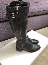 LK Bennett Knee High Boots (Black) (Size EU38/UK5)