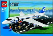 LEGO CITY 7893 PASSENGER PLANE 7893 RETIRED PLANE RARE BRAND NEW SEALED