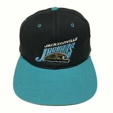 Vintage Jacksonville Jaguars Snapback Hat Plain Logo NFL Football Cap Rare Jags