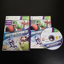 Xbox 360-Motionsports: Play for Real-komplett mit Anleitung-getestet