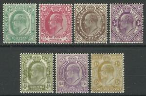 SOUTH AFRICA / CAPE OF GOOD HOPE KEV11 1902-04 MINT