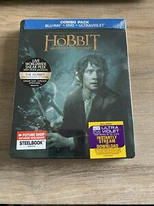 The Hobbit An Unexpected Journey Blu-Ray Steelbook NEW