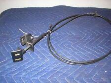 1982 - 92 Camaro Firebird YELLOW Hood Pull Release Cable Handle 87 88 89 90 91