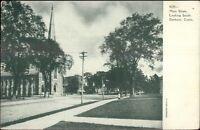 Danbury CT Main St. c1905 Postcard