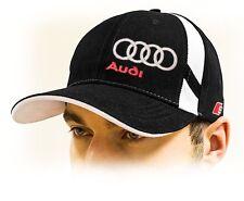Audi S line kappe, Baseball cap, Audi mütze mit S-Line Eidechse logo. Schwarz