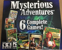 Mysterious Adventures 6 Complete Games PC Games Windows 10 8 7 XP Computer