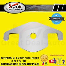 EGR Blanking Plate for Mitsubishi Pajero Triton MN ML 3.2L 2.5L TD Steel
