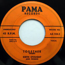 KEVIN STROUGHT & Friends 45 Together / Till I Die PAMA label DOO WOP m559