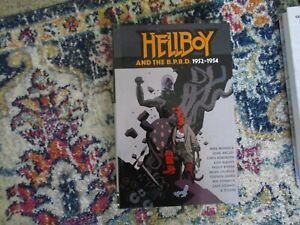Dark Horse Comics Hellboy And The B.P.R.D. 1952-1954