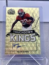 2021 Leaf MD Gold Touchdown Kings Najee Harris Rookie SSP 1/1 Autographed RARE