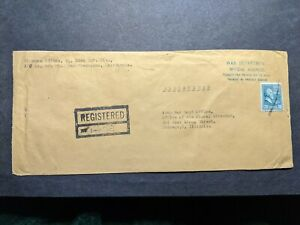 APO 31 MOROTAI ISLAND, MOLUCCAS 1945 Official Registered Army Cover 31 Infantry