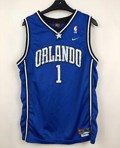 ORLANDO MAGIC BASKETBALL NBA SHIRT JERSEY CHAMPION McGRADY NIKE BOYS XL