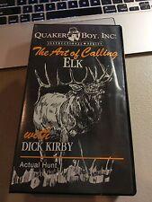 Quaker Boy presents The Art Of Calling Elk Dick Kirby  Hunting VHS Tape