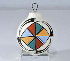 Acoma Pueblo Pottery Christmas Ornament ~ Southwest design