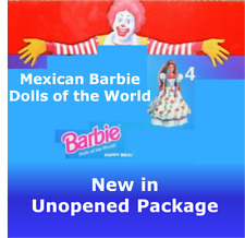 McDonald's 1996 / 1997 Barbie Dolls of the World promotion - #4 Mexican Barbie