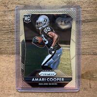 2015 Panini Prizm Amari Cooper Rookie RC #201 Dallas Cowboys