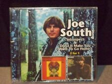 "JOE SOUTH ""INTROSPECT & DON'T IT MAKE YOU WANT TO GO HOME AUS IMPORT CD"