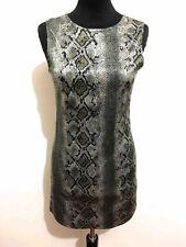 DENNY ROSE Abito Vestito Donna Pitons Reptile Woman Party Dress Sz.XS - 38