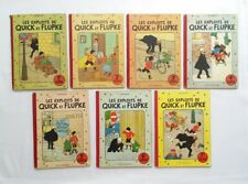 Lot BD - Quick et Flupke 1 2 3 4 5 6 7 / EO COULEUR - 1 RÉ /  HERGE / CASTERMAN