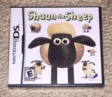 *ORIGINAL* SHAUN THE SHEEP Nintendo DS Dual Screen shawn *NEW/SEALED!* US USA