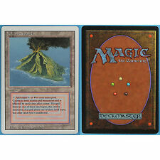 Volcanic Island- Revised NM-M NEAR MINT DUAL LAND MAGIC CARD (ID 28333) ABUGames