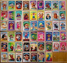 GARBAGE PAIL KIDS~1986 TOPPS Trading Card Set of 64~Some Rare Ones!