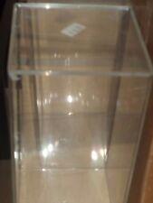 """Clear Plastic Figure Case Display Box New! 4x4x8"""""""