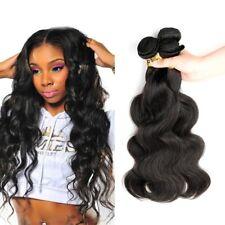 3bundles 100% Brazilian Unprocessed Virgin Hair Body Wave Human Hair Extensions