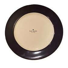Kate Spade Rutherford Circle Navy Blue Dinner Plates Set of 4 Lenox