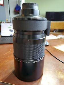 nikon telephoto lens 1000mm f/8.0 N Reflex-NIKKOR Manual Focus