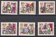 DDR 1323 - 1328 gestempelt Märchen - König Drosselbart