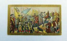 American Tobacco Company Cigarette Card c.1901 Battle Scenes Hohenfriedberg