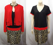 Zweiteilige Damen-Anzüge & -Kombinationen mit Kleid für Business und Knielang