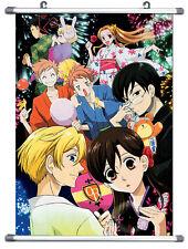 """B953 Anime Ouran High School Host Club Wall Scroll  cosplay 10""""x14"""""""